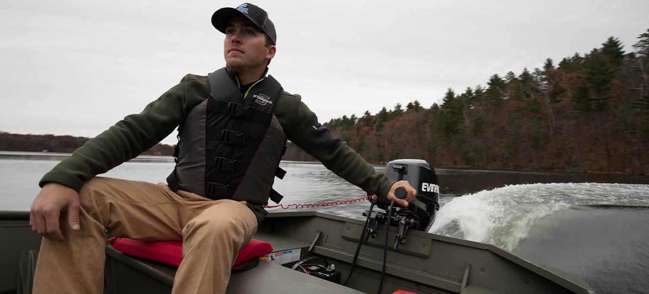 Portables: Outboard Motors 15 HP & Under | Evinrude CA